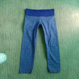 Lululemon purple Heathered crop leggings 2